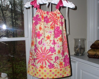 Floral pillowcase dress