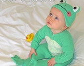 Missy Frog Baby Onesie Costume with Hat - Lil' Creatures