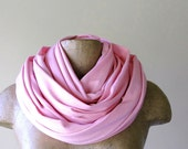 Classic Extra Long Scarf - Pastel Cupid Pink - Extra Large Scarf - Oversized Chunky Scarf