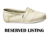 Custom TOMS - Reserved for Jami