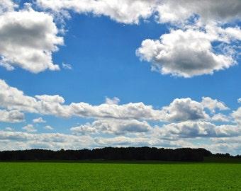 Wisconsin Farmland Photograph 8x10