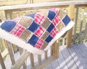 Small Flannel Rag Quilt.