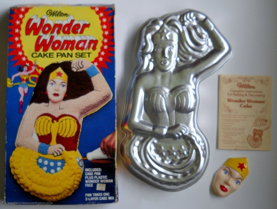 Wilton Wonder Woman Cake Pan Instructions