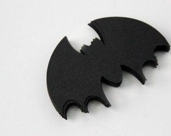 Black Bat Die Cuts - Batman Birthday - Set of 48
