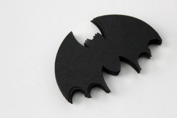 Black Bat Die Cuts - Set of 24