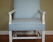 Mod Blue Accent Chair