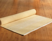 Yoga Mat  - Sunshine Yellow - 100% Cotton