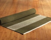 Yoga Mat  - Olive Brown - 100% Cotton