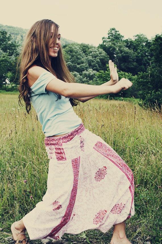I put a spell on you...-Harem, Aladdin, Genie, Boho, Hippie, Gypsy, Yoga, India, Pants-Wear Different Ways