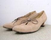 Vintage Johansen Shoes Victorian Style Size 9