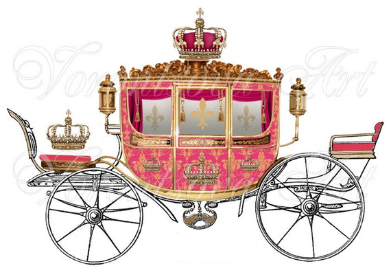 Royal Carriage Illustration
