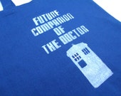 Doctor Who Tote: Future Companion of The Doctor TARDIS