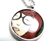 Daria Double Sided Pendant Necklace