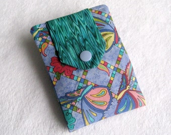 Tea wallet - 4 pockets - Butterfly - Ready to ship