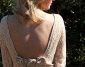 Boho Vintage Wedding Dress - Bette