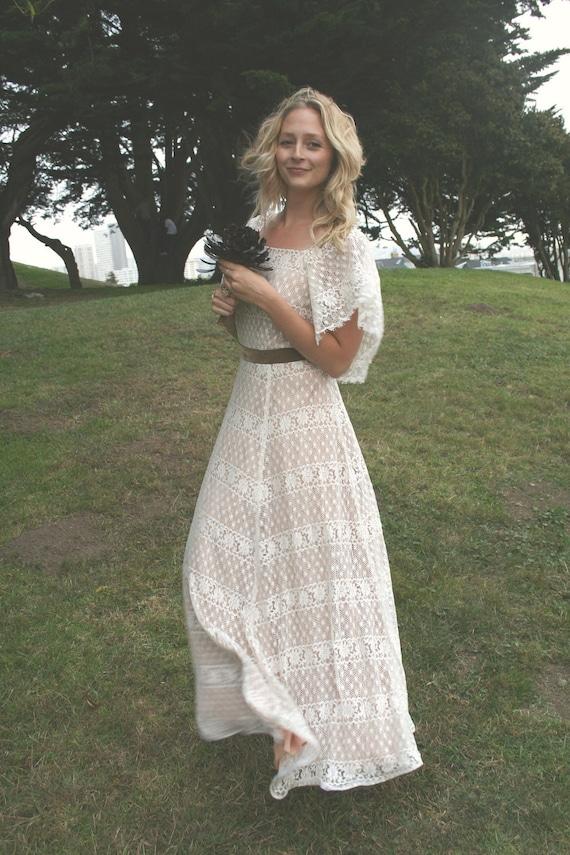 Vintage Wedding Gown - Janis