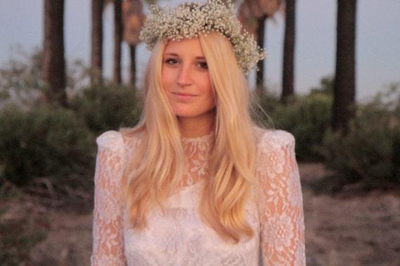 SALE - Vintage Wedding Dress - Sunny