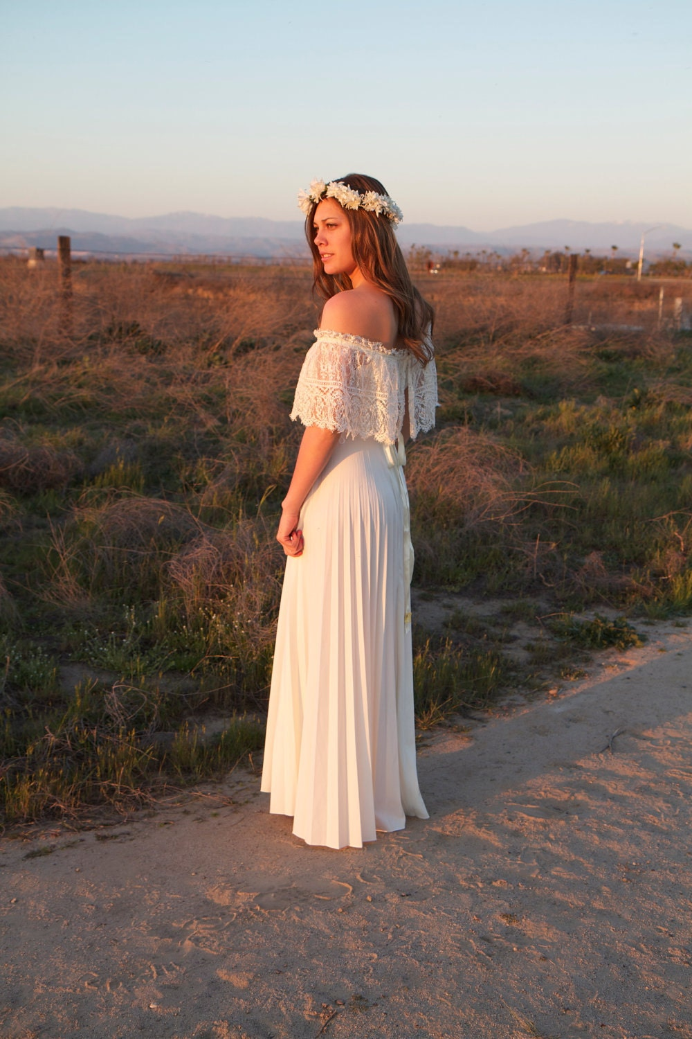 Reserved for yella vintage wedding gown by daughtersofsimone for Wedding dress dry cleaning denver