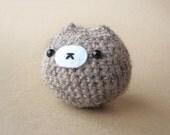 Light Brown Chuppy - Crochet Amigurumi - Stuffed Animal