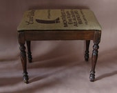 Vintage Boot Bench 1920s Farmhouse Repurposed Furniture