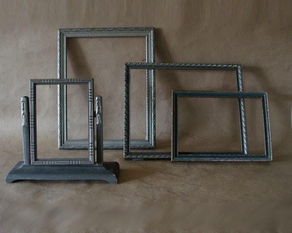 Instant Collection of 4 Art Nouveau 1920s Picture Frames Frame Set