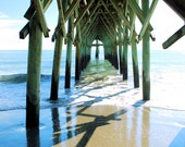 Pier to Heaven, photographic print, 14X20, signed. Award winning photo.  Published in a SC Magazine