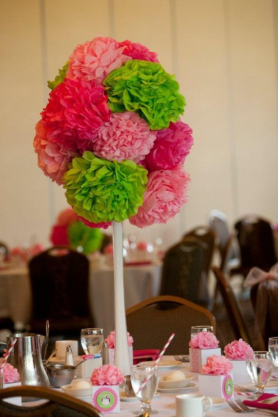 Items similar to three tall wedding birthday or party