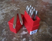 """3/32"""" (2.5mm) Premium Quality Number Stamp Set - Great for Stainless Steel :) TSSN2.5PB"""