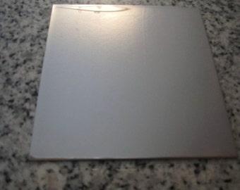 "6"" x 6"" Stainless Steel Sheet, 22g SSS06-06"