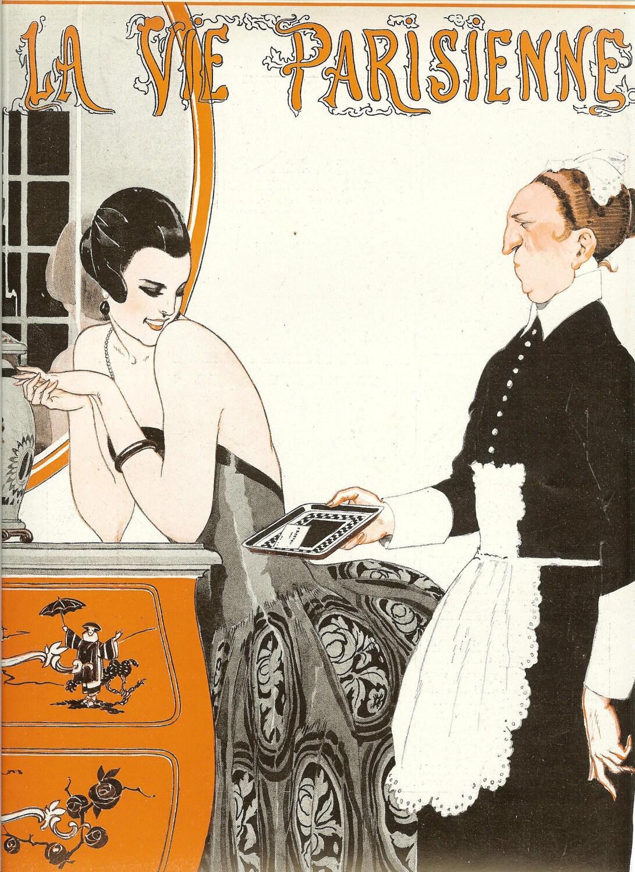 art deco print 1922 edition of la vie parisienne french. Black Bedroom Furniture Sets. Home Design Ideas