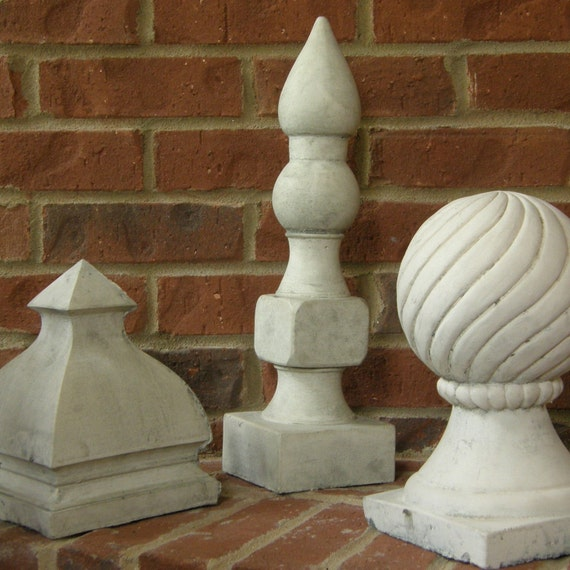 Reserved for Jackie -Stone Finials - A Sculptural Collection