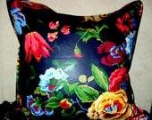 Vintage  Floral Designer Pillow Cover 20x20