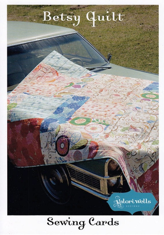 Easy Quilt Pattern - Valori Wells Sewing Card - Quick and Easy Sewing Pattern