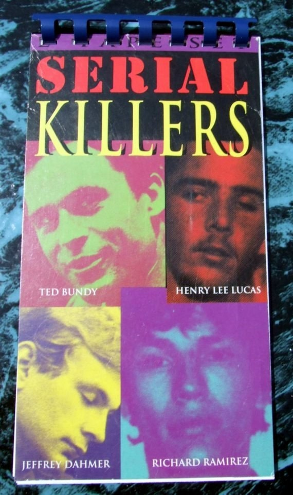 VHS 'Serial Killers' Notebook Recycled Notepad
