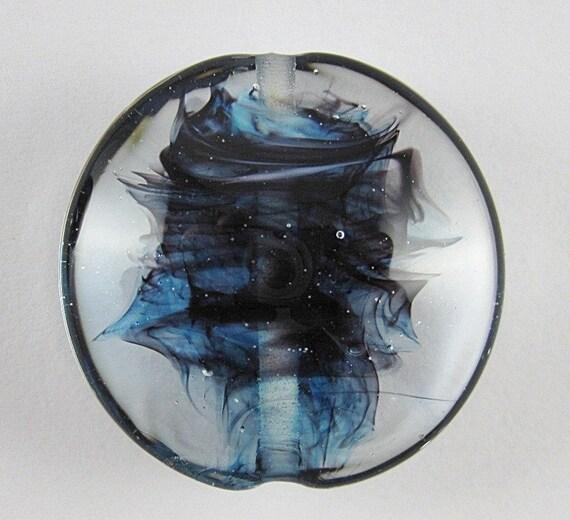 Stormy Midnight Blue Lentil Focal