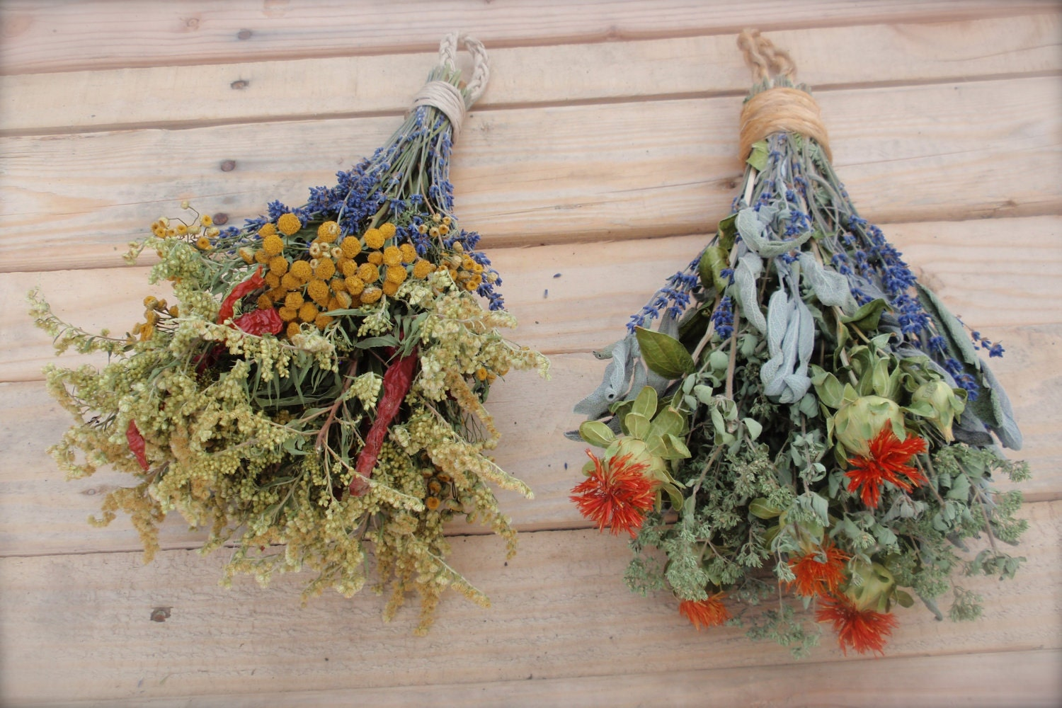 Dried Herb Swag All Natural Special Listing For Roni