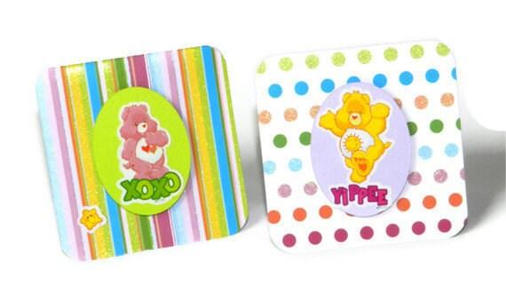 Care Bear notecards - set of 10