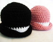 CROCHET PATTERN Derby Hat (3 sizes included from newborn-3 years) Instant Download