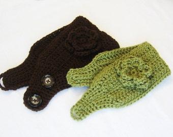 CROCHET PATTERN - Ear Warmer - crochet headband handmade supplies crochet accessories PDF pattern instant download
