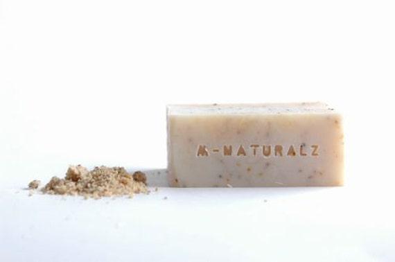 Hazelnut Natural Exfoliating Soap