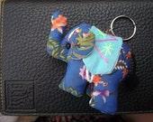 Thai handmade elephant Key-chain ring KC-025