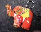 Thai handmade elephant Key-chain ring KC-027