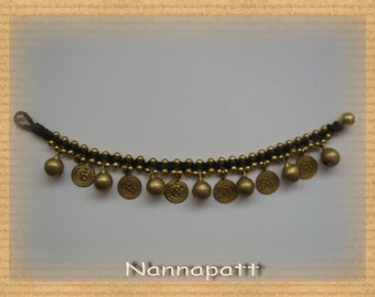 Thai handmade bracelet lovely brass pendant for summer/thanksgiving gift idea/Christmas bracelet/Hawaii jewelry/India accessories/Sea bracel