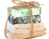 Handmade Soap Gift Set, Cold Processed Soap, Vegan , You Choose Scents,