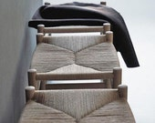 Hans Wegner Style CH53 Mid-Century Modern Stool - Oak