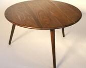Danish Modern Coffee Table - Walnut