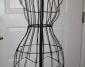 Victorian Style Iron Work Dress Form