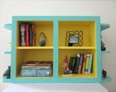 Vintage Reclaimed Bookshelf / Cabinet
