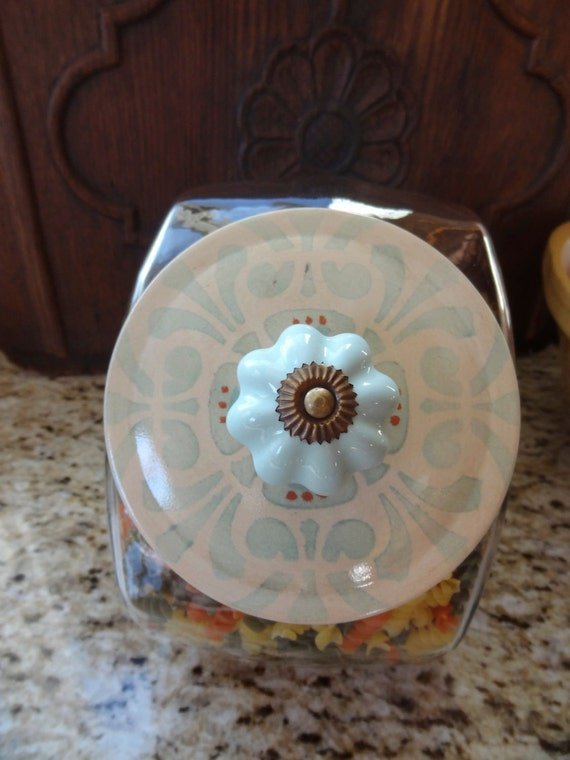 Hand Painted - Decorative Penny Jar