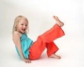 Linen trousers, linen pants, Eco friendly, girl trousers, children clothes, summer pants size 5y